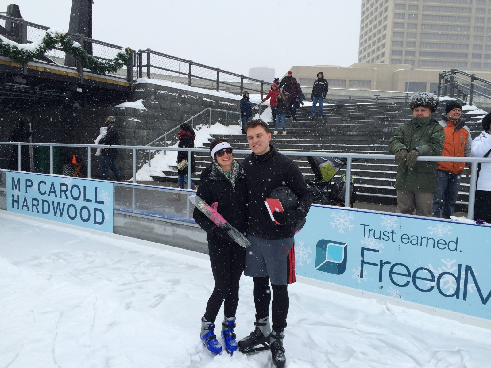 Valentine's Day Ice Challenge at Canalside Buffalo